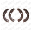 Brake drums and shoes STARK 7771374 Rear Axle, without lever