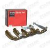 STARK Bremsbackensatz SKBS-0450054 für AUDI 80 (81, 85, B2) 1.8 GTE quattro (85Q) ab Baujahr 03.1985, 110 PS