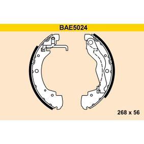Bremsbackensatz Breite: 56mm mit OEM-Nummer 701 609 531 D
