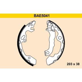 Bremsbackensatz Breite: 38mm mit OEM-Nummer 1 075 549