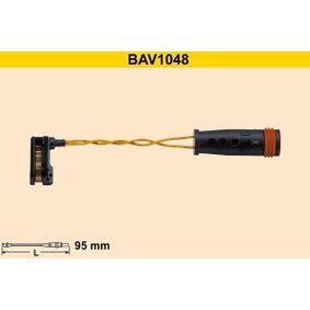 Contacto de aviso, desgaste de los frenos Long. contacto de aviso: 95mm con OEM número 2E0906206G