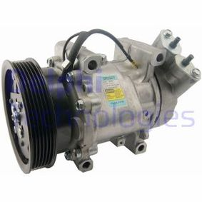 Kompressor, Klimaanlage TSP0159277 CLIO 2 (BB0/1/2, CB0/1/2) 1.5 dCi Bj 2002