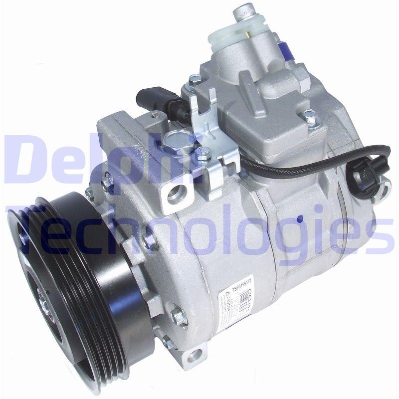DELPHI  TSP0159332 Compresor, aire acondicionado Polea Ø: 110mm