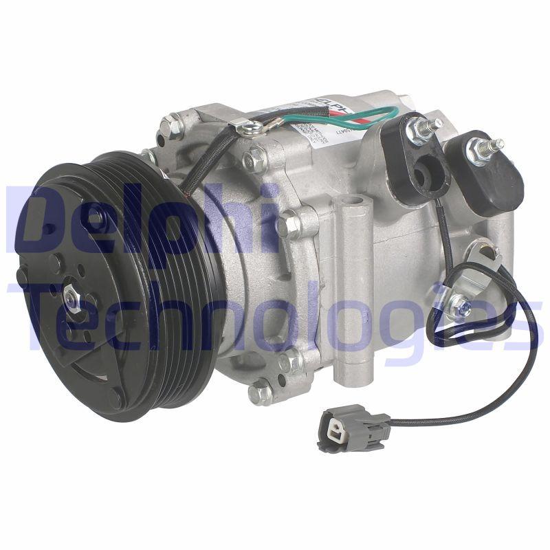 DELPHI  TSP0159477 Compressore, Climatizzatore Puleggia-Ø: 112mm
