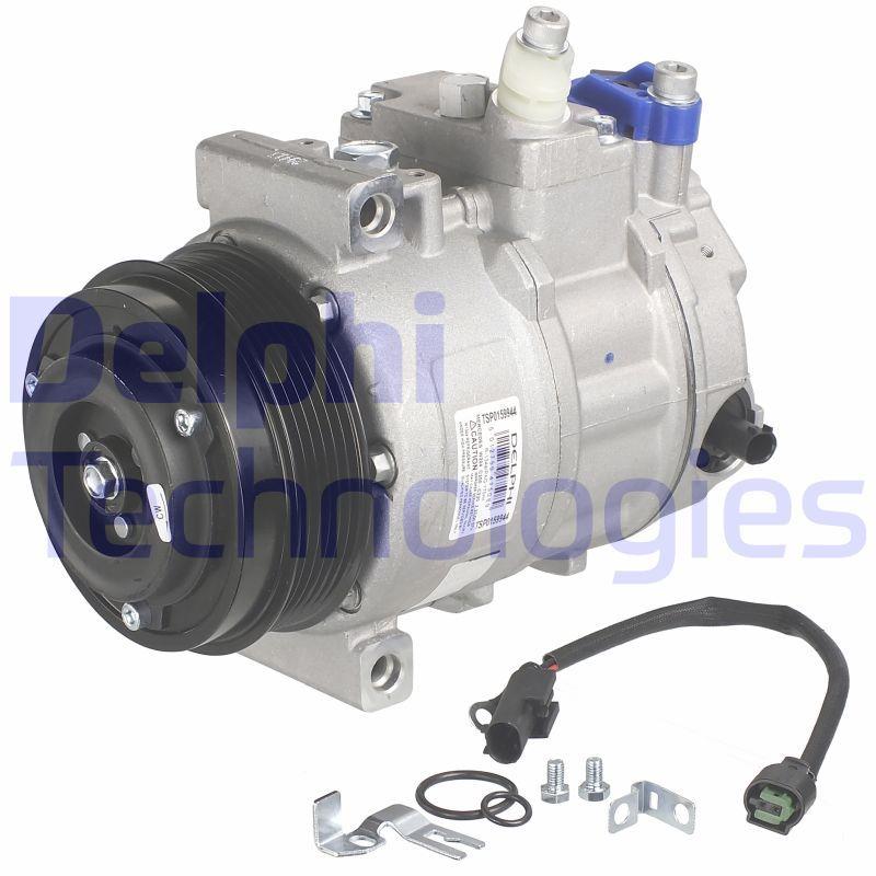 DELPHI  TSP0159944 Compresor, aire acondicionado Polea Ø: 110mm