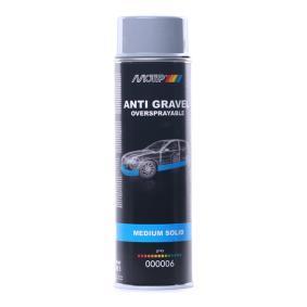 Unterbodenschutz MOTIP 000006 für Auto (Steinschlag grau ÜL 500, Inhalt: 500ml)