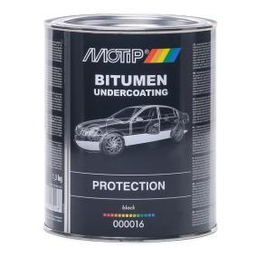 Unterbodenschutz MOTIP 000016 für Auto (Gewicht: 1.3kg, UBS schwarz Bitumen 1,3 kg)