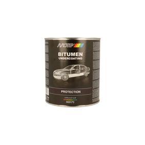 Unterbodenschutz MOTIP 000173 für Auto (Gewicht: 2kg, UBS schwarz Bitumen 2500)