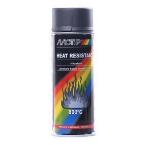 Hitzebeständiger Lack MOTIP 04030 für Auto (Hitzefest anthrazit dkl. 400, Inhalt: 400ml)