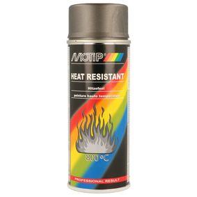 Hitzebeständiger Lack MOTIP 04037 für Auto (Hitzefest anthrazit 400, Inhalt: 400ml)