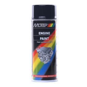 Hitzebeständiger Lack MOTIP 04092 für Auto (Motip Tun. Engine black 400, Inhalt: 400ml)