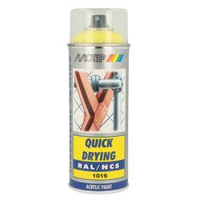 RAL-Spraydosen MOTIP 07003 für Auto (Sprühdose, 1016, Inhalt: 400ml)