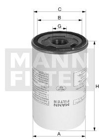 MANN-FILTER  LB 11 102/20 Filter, compressed air system