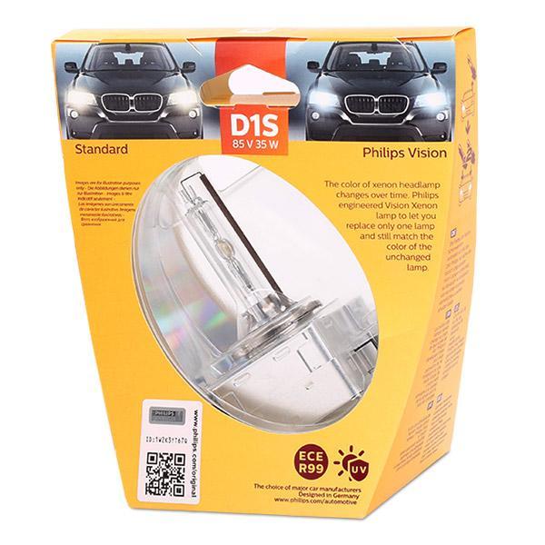 Glühlampe, Fernscheinwerfer 85415VIS1 PHILIPS 36489733 in Original Qualität