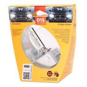 Glühlampe, Fernscheinwerfer D1S (Gasentladungslampe), 35W, 85V 85415VIS1 VW GOLF, PASSAT, TOURAN