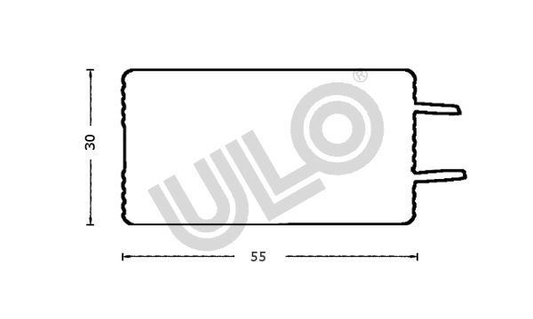 Interior Light ULO 2570-05 rating