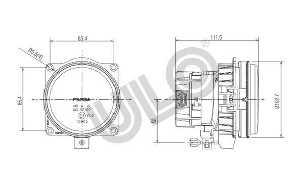 Nebelscheinwerfer ULO 2701003 Bewertung