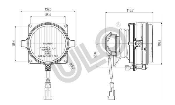 Nebelscheinwerfer ULO 2701014 Bewertung