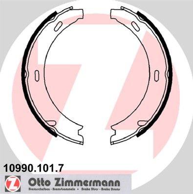 ZIMMERMANN  10990.101.7 Set saboti frana, frana de mana Latime: 20mm