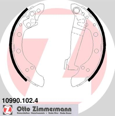ZIMMERMANN  10990.102.4 Bremsbackensatz Breite: 40mm