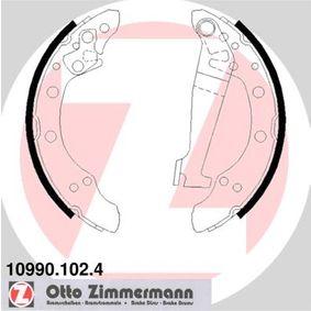 Bremsbackensatz Breite: 40mm mit OEM-Nummer 6Q0698525