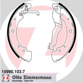 Bremsbackensatz Breite: 55mm mit OEM-Nummer 701 609 531 D