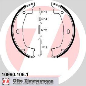 Brake Shoe Set, parking brake Width: 20mm with OEM Number 3441 6 761 291