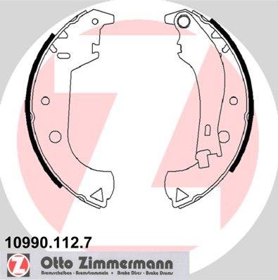 ZIMMERMANN  10990.112.7 Bremsbackensatz Breite: 42mm