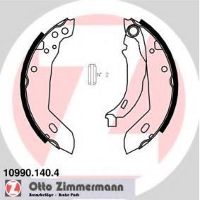 Bremsbackensatz Breite: 42mm mit OEM-Nummer 77 01 205 312
