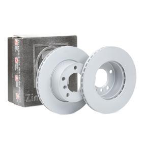 Bremsscheibe Bremsscheibendicke: 22mm, Felge: 5-loch, Ø: 284mm mit OEM-Nummer 34 116 792 215