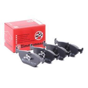 Bremsbelagsatz, Scheibenbremse Breite: 123,2mm, Höhe: 45,2mm, Dicke/Stärke: 17,0mm mit OEM-Nummer 3421 116 2446