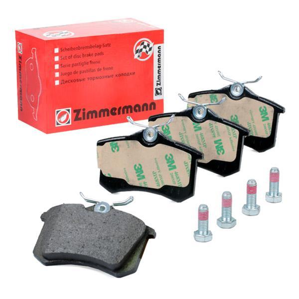 ZIMMERMANN  20961.152.1 Bremsbelagsatz, Scheibenbremse Breite: 87,00mm, Höhe: 52,8mm, Dicke/Stärke: 15,2mm