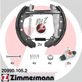 Bremsensatz, Trommelbremse mit OEM-Nummer 6Y0609525A