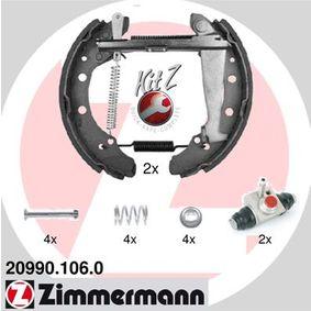Bremsensatz, Trommelbremse mit OEM-Nummer 6Y0 609 525A