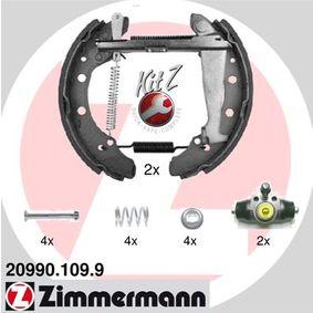 Bremsensatz, Trommelbremse mit OEM-Nummer 1H0609525D