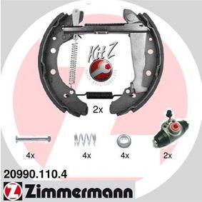 Bremsensatz, Trommelbremse mit OEM-Nummer 1H0 609 528D