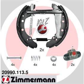 ZIMMERMANN KIT Z 20990.113.5 Bremsensatz, Trommelbremse