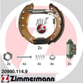 Bremsensatz, Trommelbremse Art. Nr. 20990.114.9 120,00€