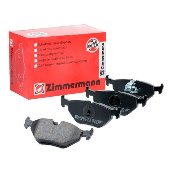 ZIMMERMANN  21691.170.1 Bremsbelagsatz, Scheibenbremse Breite: 123mm, Höhe: 45mm, Dicke/Stärke: 17mm