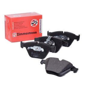 ZIMMERMANN  23312.200.1 Bremsbelagsatz, Scheibenbremse Breite: 155,0mm, Höhe: 68,2mm, Dicke/Stärke: 20,0mm