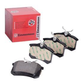 Juego de pastillas de freno Ancho: 87,2mm, Altura: 53,1mm, Espesor: 15,0mm con OEM número 1JD-698-451-A