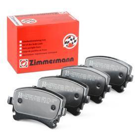 ZIMMERMANN  23882.175.1 Bremsbelagsatz, Scheibenbremse Breite: 116,2mm, Höhe: 58,6mm, Dicke/Stärke: 17,5mm