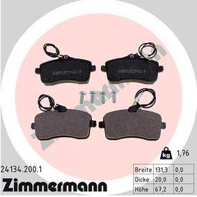 Bremsbelagsatz, Scheibenbremse Breite: 131mm, Höhe: 67mm, Dicke/Stärke: 20mm mit OEM-Nummer 425332