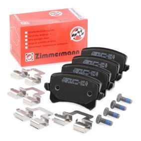 Bremsbelagsatz, Scheibenbremse Breite: 105,5mm, Höhe: 56,4mm, Dicke/Stärke: 17mm mit OEM-Nummer 5N0 698 451