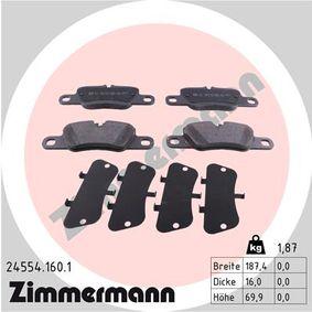 Bremsbelagsatz, Scheibenbremse Art. Nr. 24554.160.1 120,00€