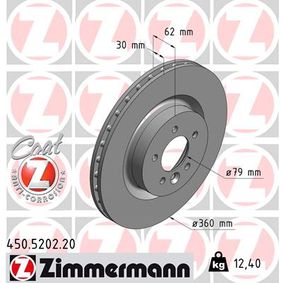 Bremsscheibe Art. Nr. 450.5202.20 120,00€