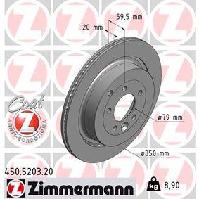 Bremsscheibe Art. Nr. 450.5203.20 120,00€