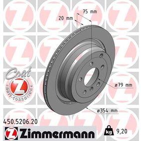 Bremsscheibe Art. Nr. 450.5206.20 120,00€