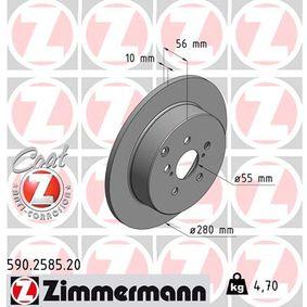Bremsscheibe Art. Nr. 590.2585.20 120,00€