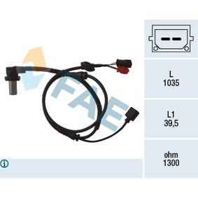 Sensor, Raddrehzahl Art. Nr. 78059 120,00€